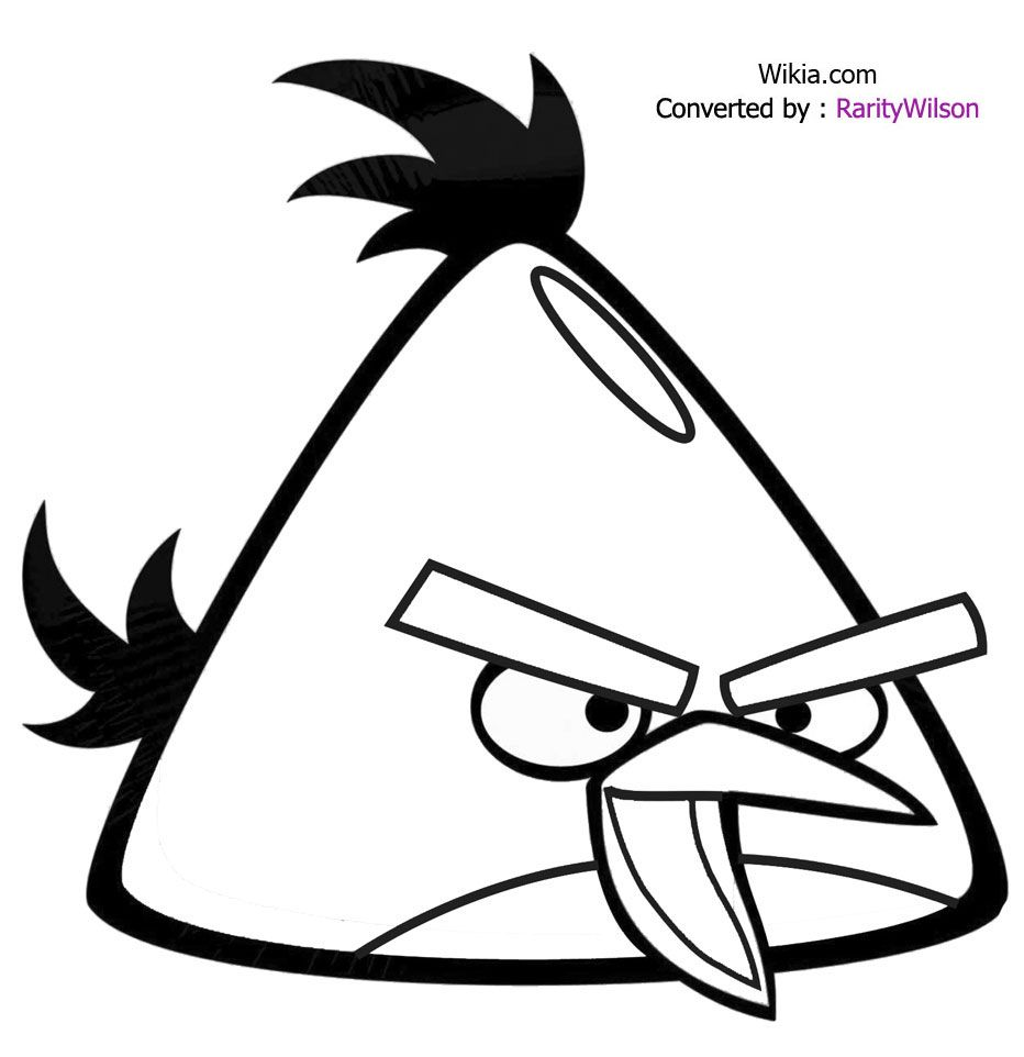Most Useful Angry Birds Coloring Pages With Images Bird