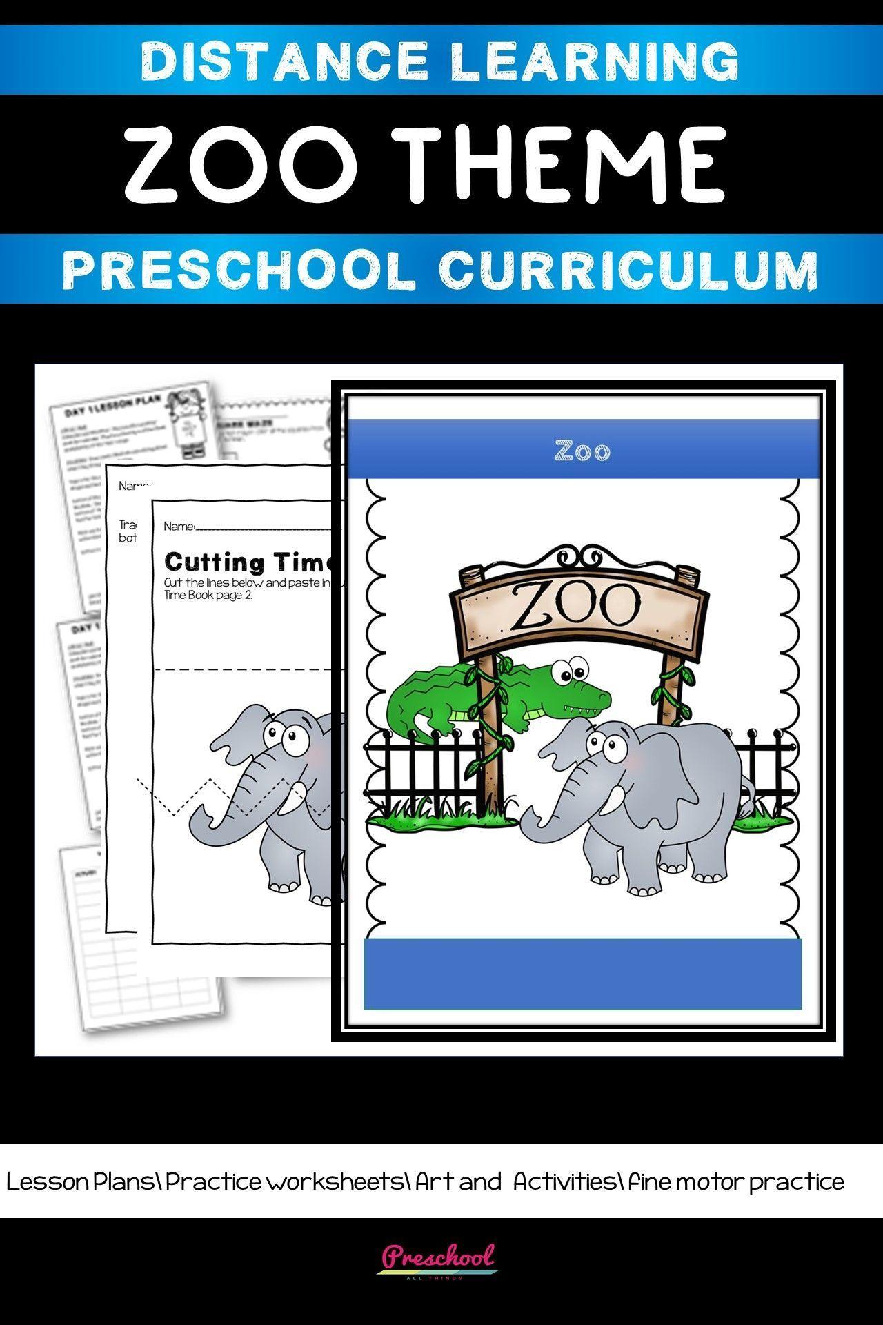 Zoo Theme Based Curriculum
