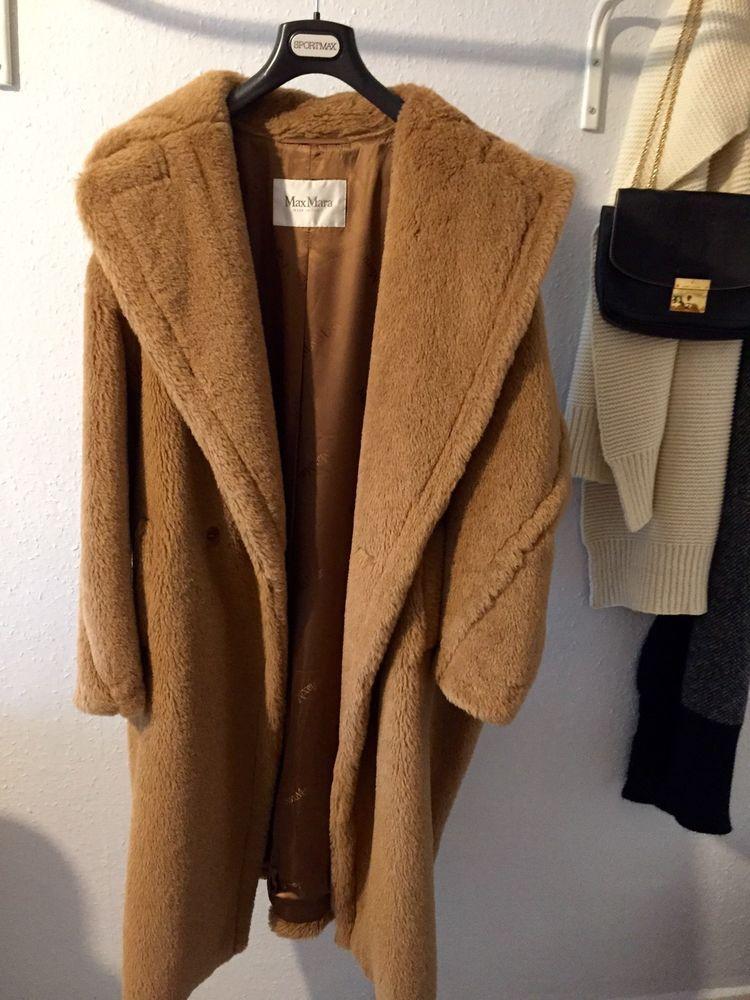 2e919c07a Max Mara Carrara Coat Teddy Bear Camel