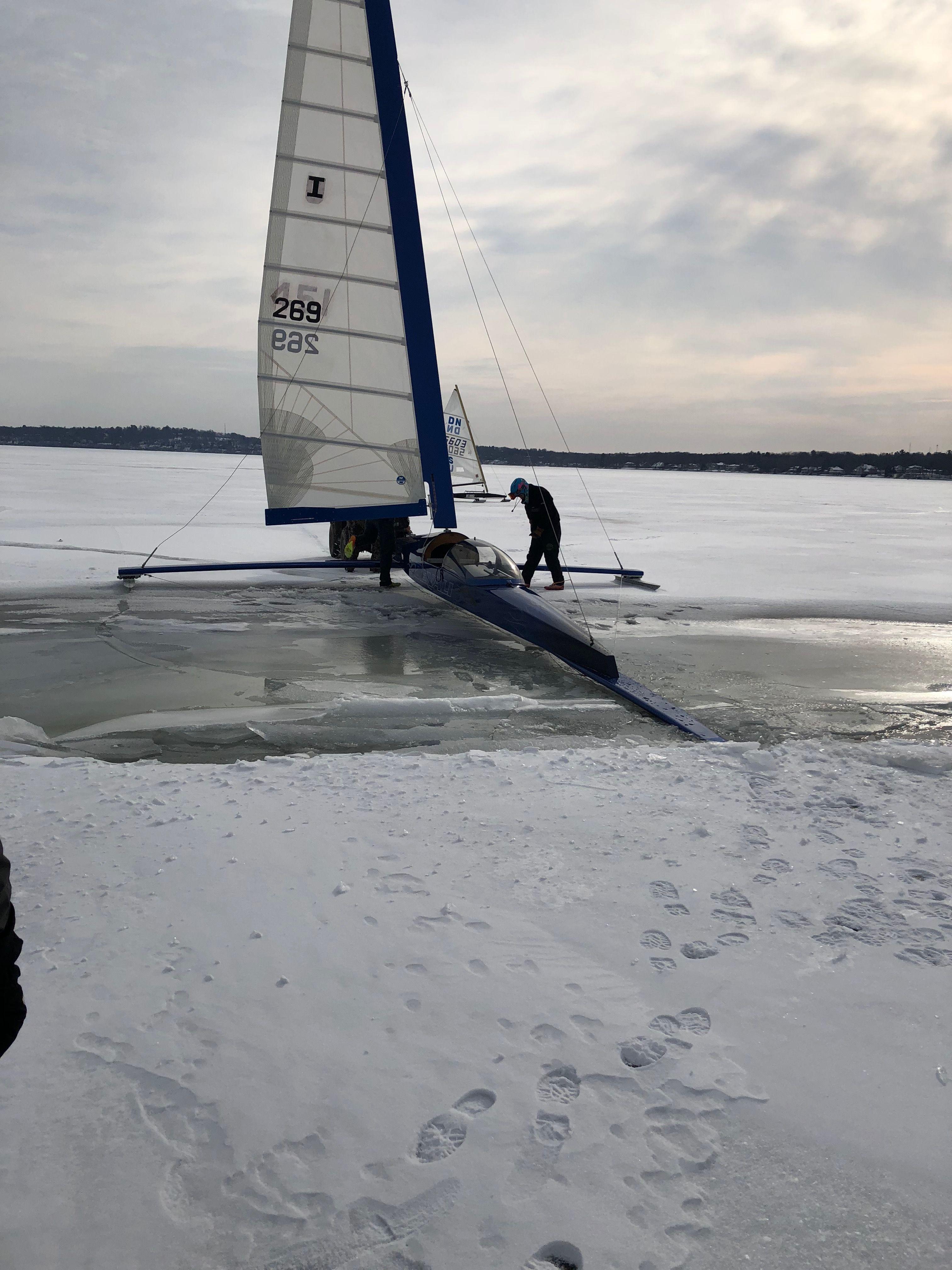 Idea By Goetz On Ice Boating