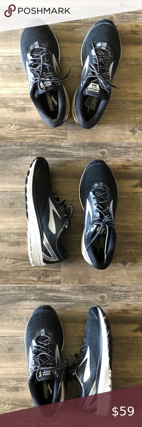Brooks Ghost 10 Running Shoes size 10.5