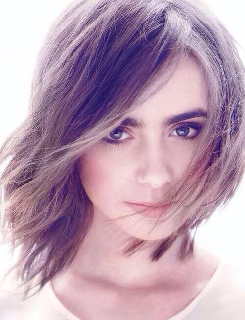 lily collins sported the short hair better