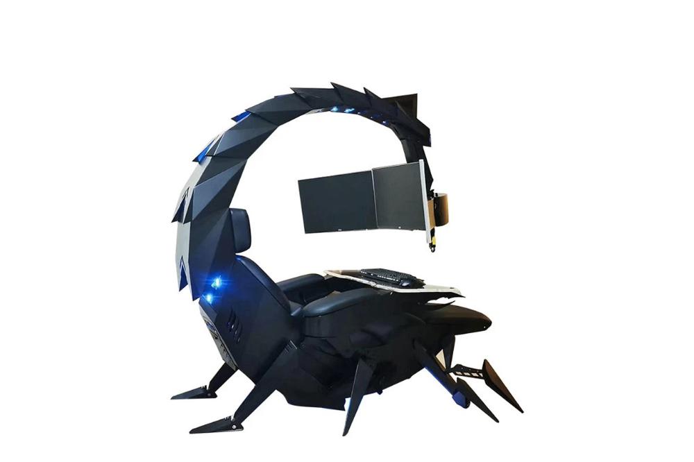 前衛科幻零重力-「蠍型」可動式智能遊戲&工作座椅正式登場 in 2020 Gaming chair