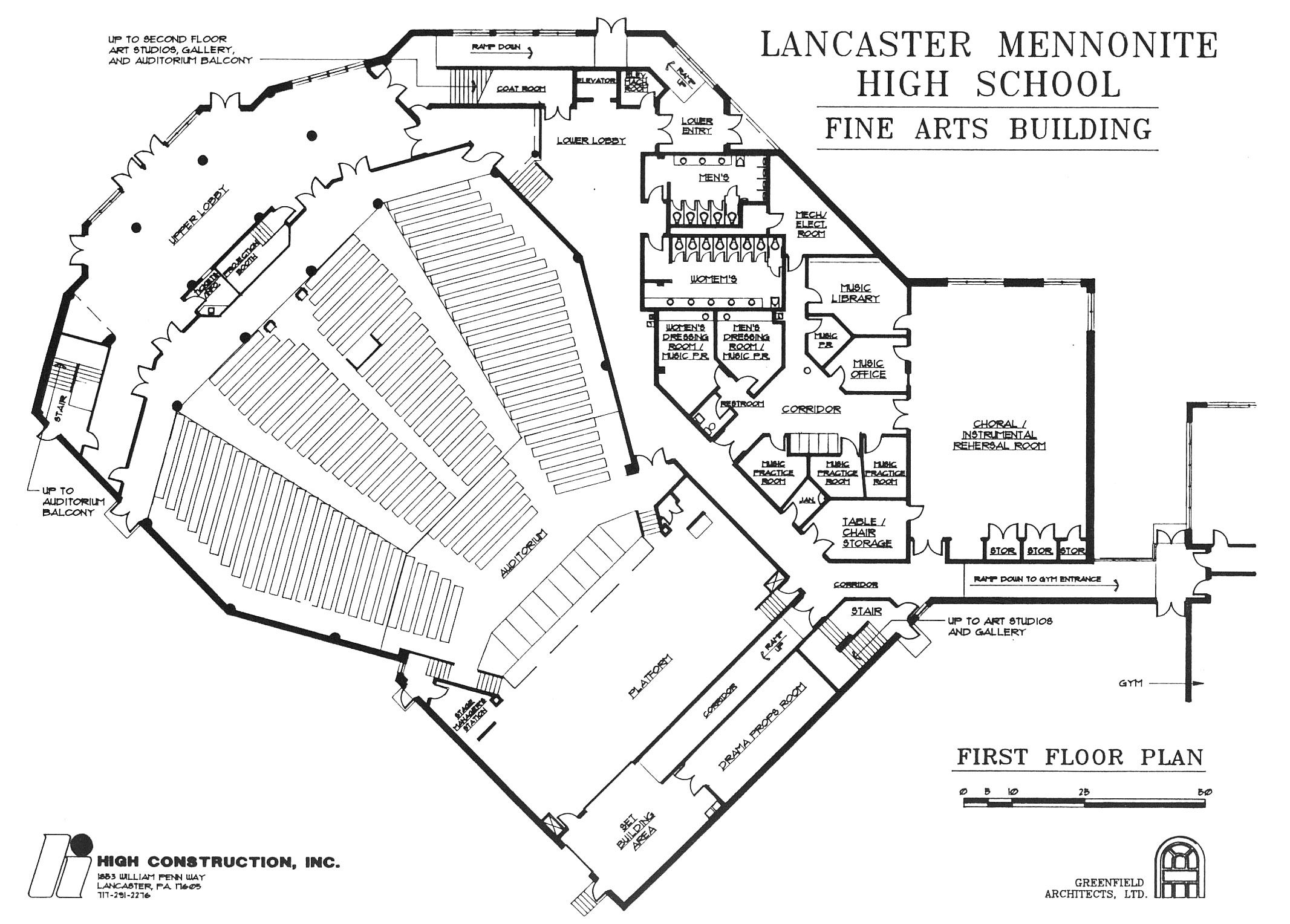 High School Auditorium Plan Wwwgalleryhipcom The