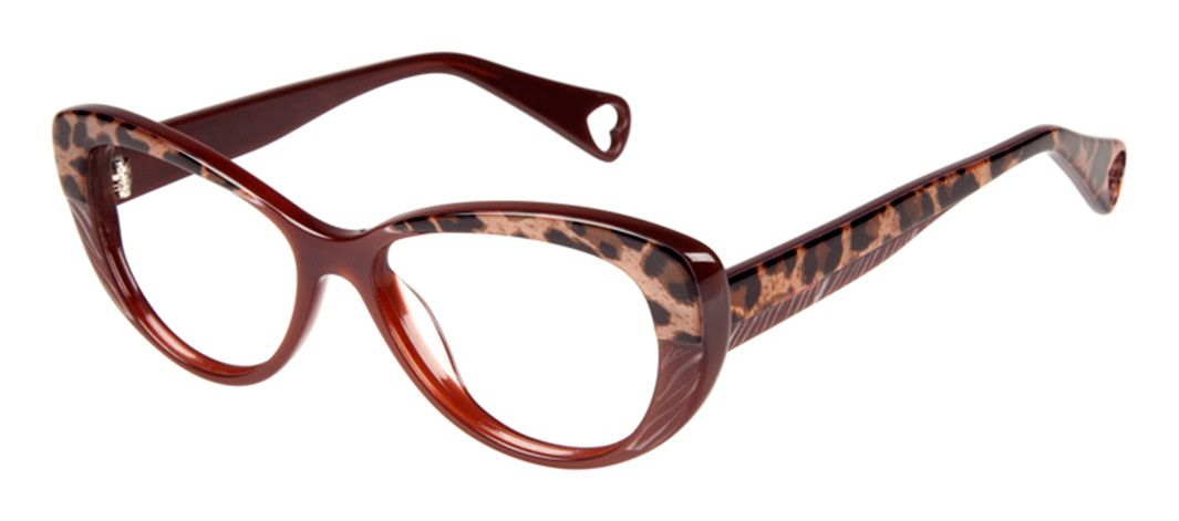 747cb07c3ff5 Betsey Johnson Hot to Trot BJ 0154 Eyeglasses