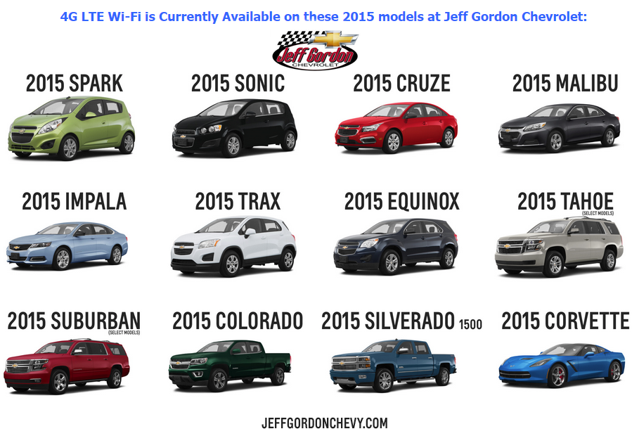 Which New Chevy Cars Trucks And Suvs Have Onstar S 4g Lte