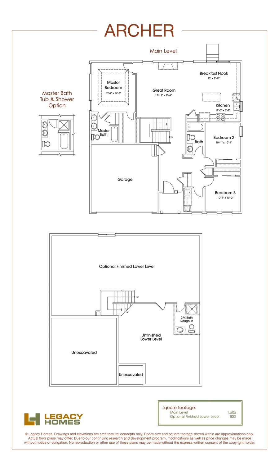 Archer Floor Plan   Legacy Homes   Omaha and Lincoln   Floorplans ...