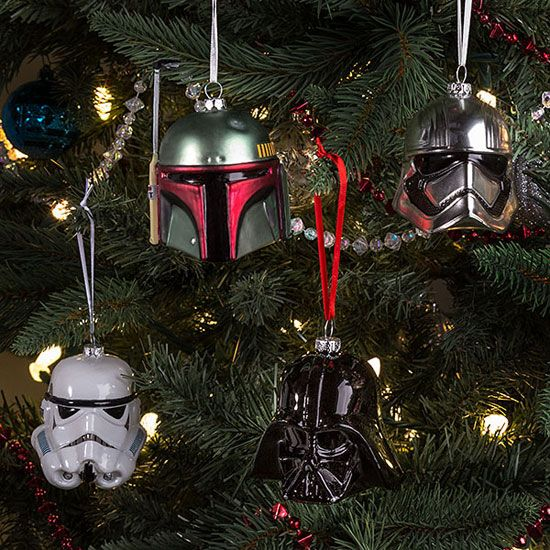 Star Wars Christmas tree decorations at ThinkGeek | It's the most ...