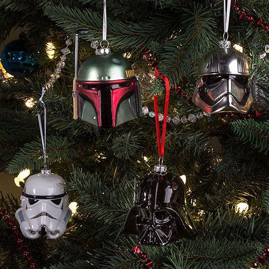 Star Wars Christmas tree decorations at ThinkGeek - Star Wars Christmas Tree Decorations At ThinkGeek STAR WARS