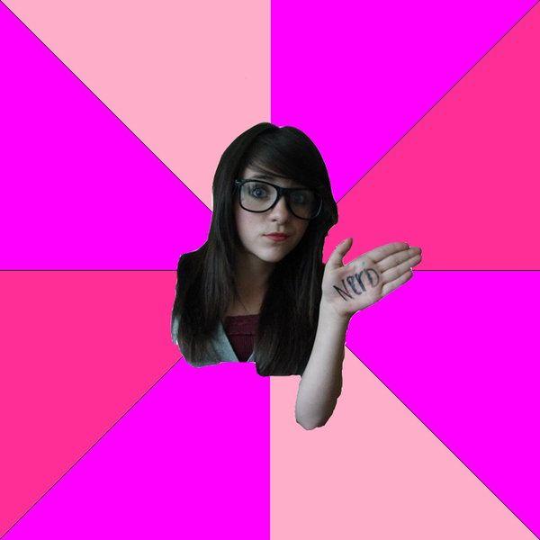 Real nerd girl