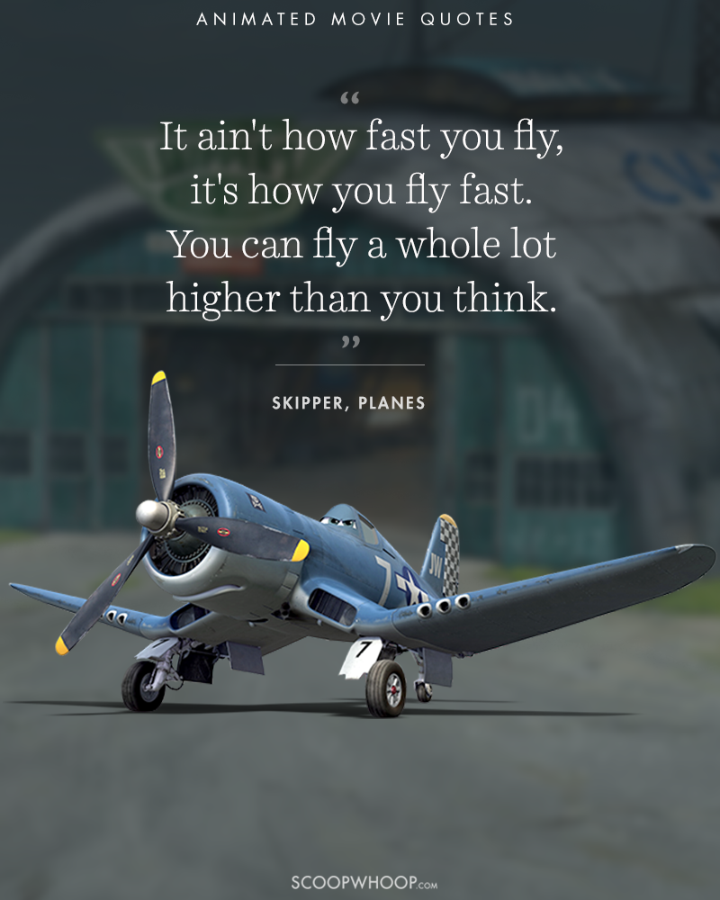 15 Animated Movies Quotes That Are Important Life Lessons ...