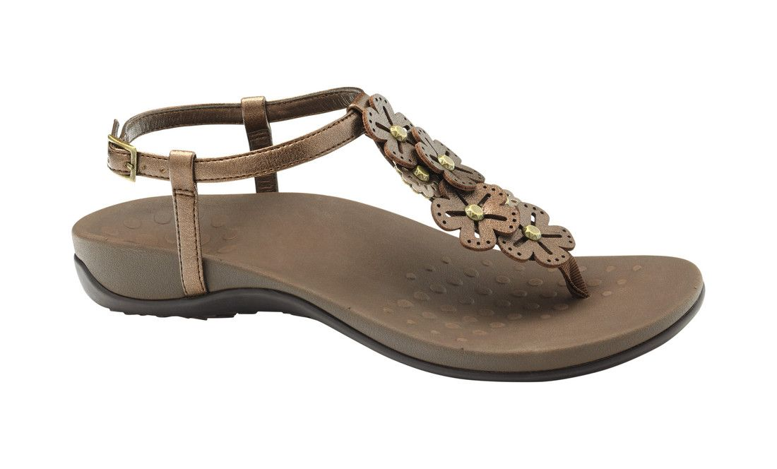 3c3771734478 Price   79.95 - Vionic Julie Womens Orthaheel Sandals. The Vionic Womens Julie  II features Vionics Orthaheel Supportive Technology