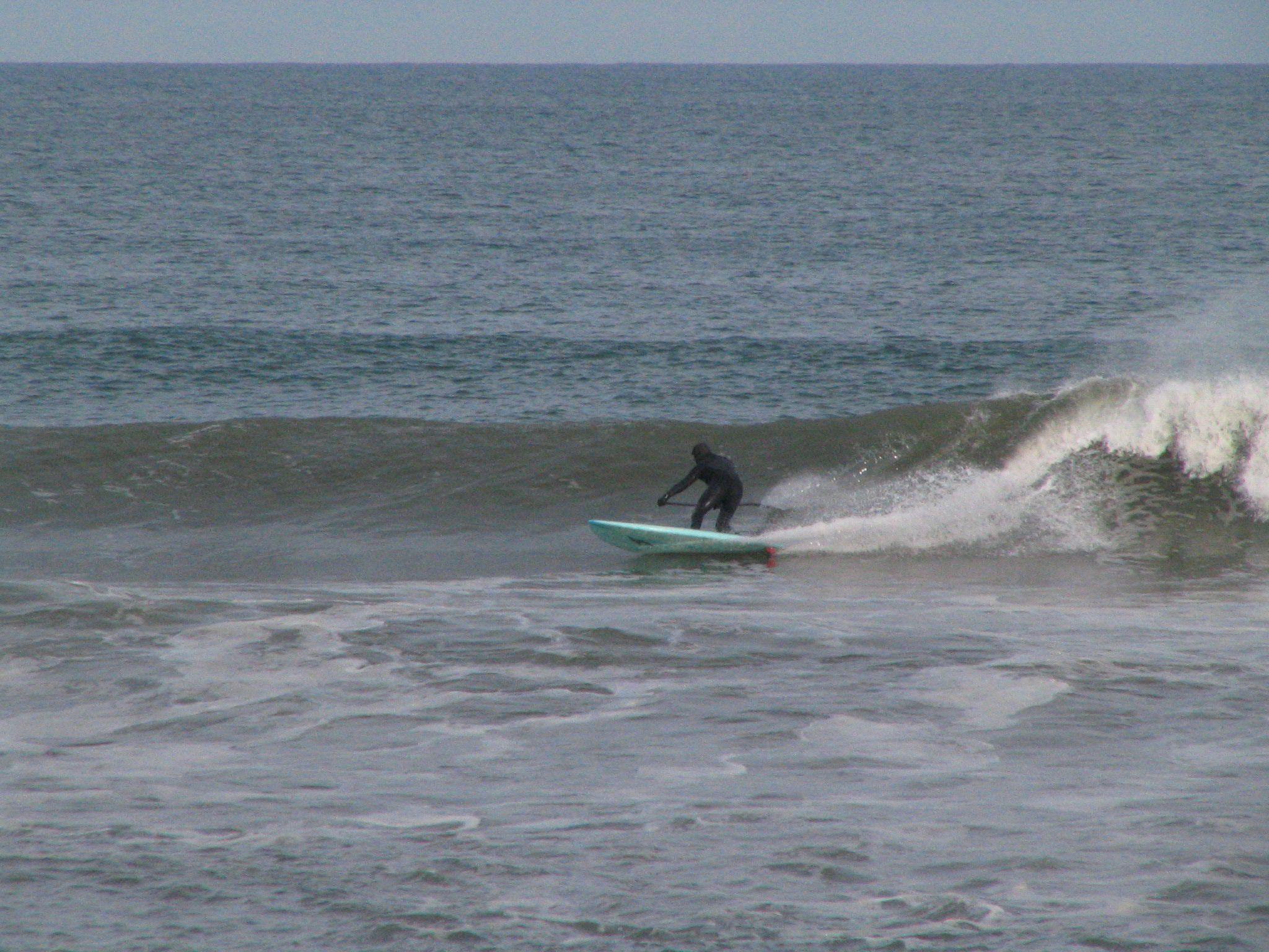 December Surfing In Kitty Hawk Surfer Tim Nolte Surfing Surfer Outdoor