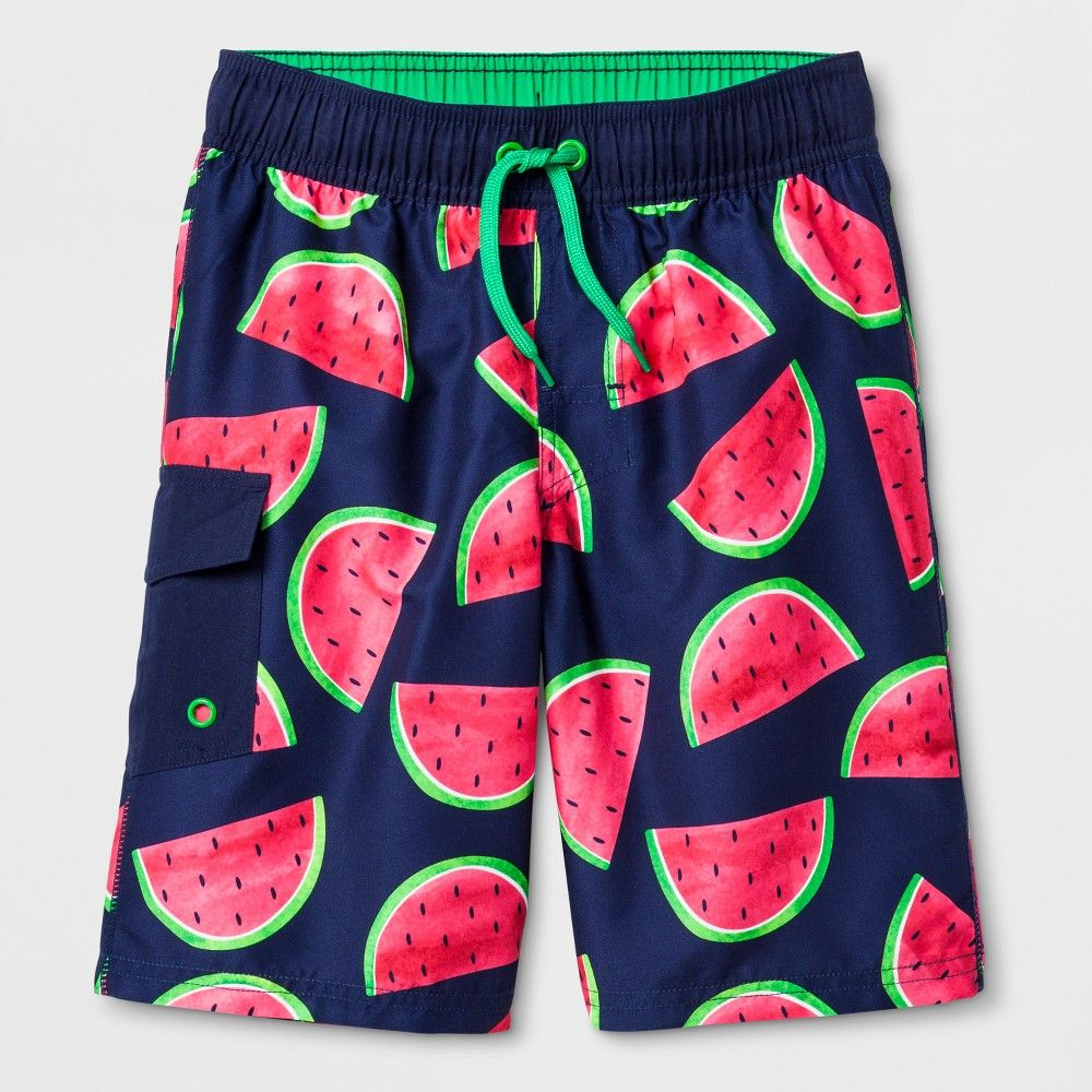 0f092406f1 These Flat-Pocket Swim Trunks from Cat and Jack really put the
