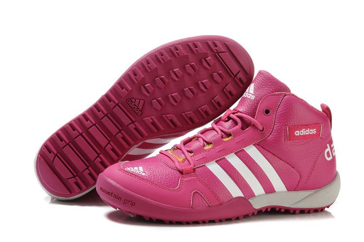 size 40 38a25 46ef4 Perfect Adidas Daroga Leather Women Snow Boots in Pink, Fashion