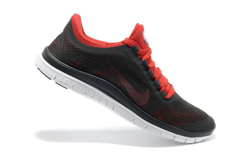 official photos ce2f7 e6fdb Nike Free 3.0 v5 Dark Charcoal Chilling Red 580393 061