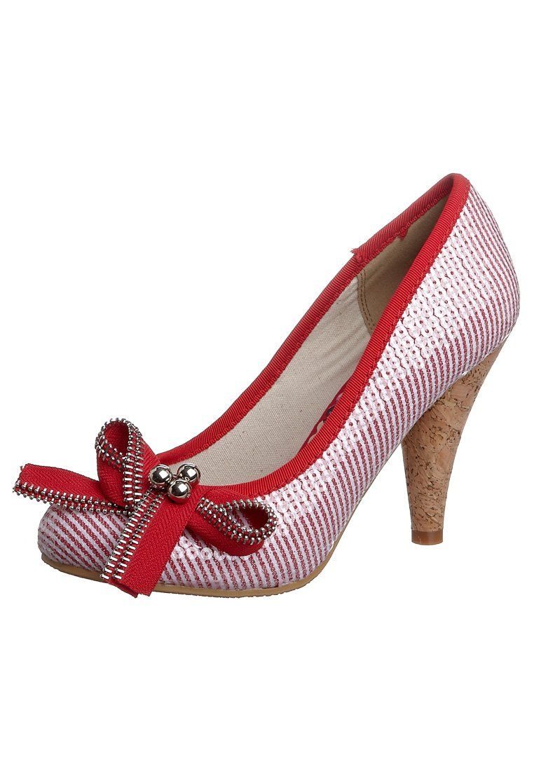Pumps - red/white