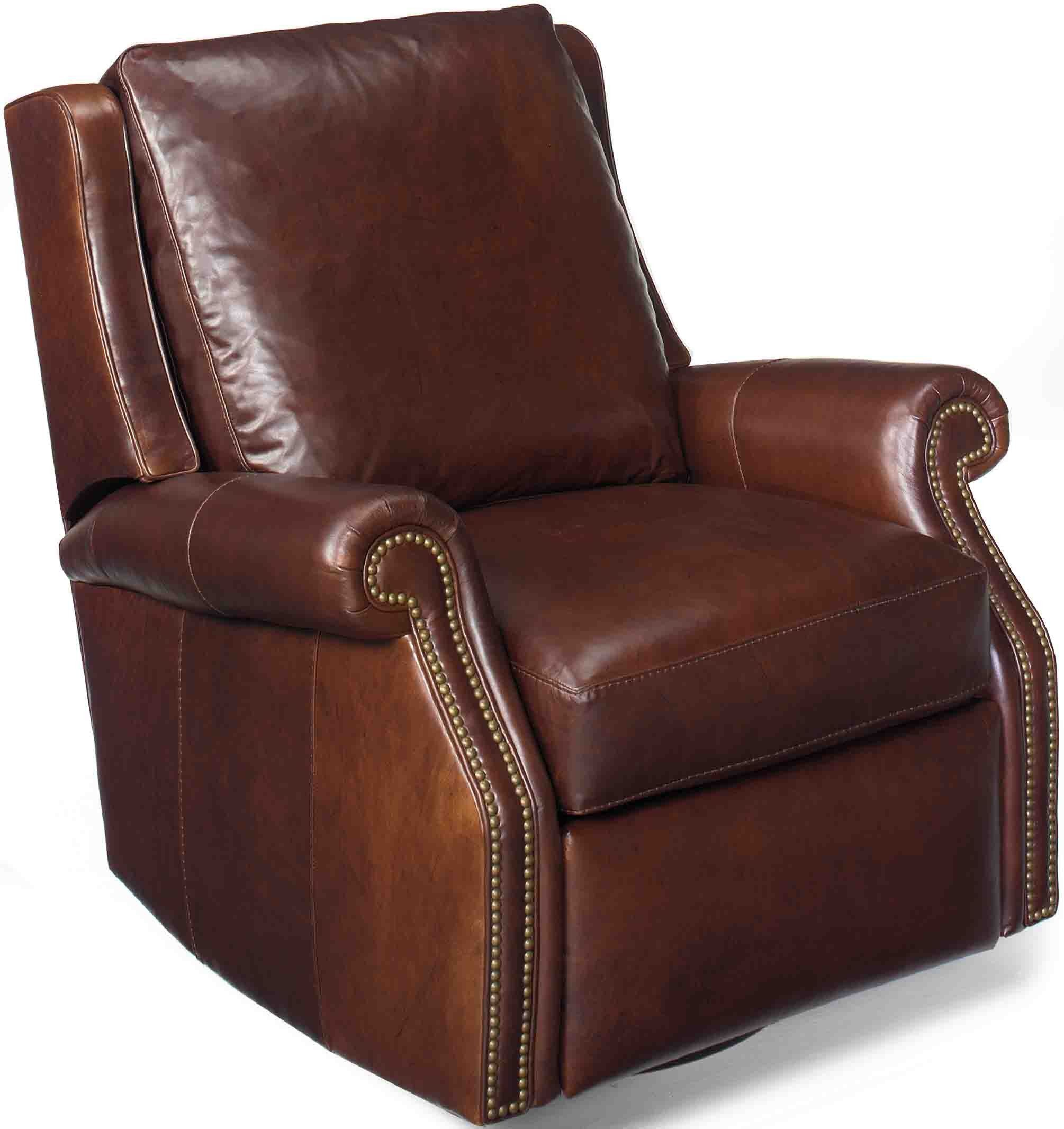Chair Leather Reclining Swivel Bradington Young Barcelo Swivel Glider Recliner By 7411 Sg