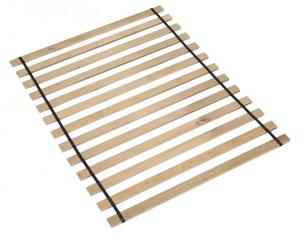 Frames And Rails Contemporary Brown Queen Roll Slats B100-13