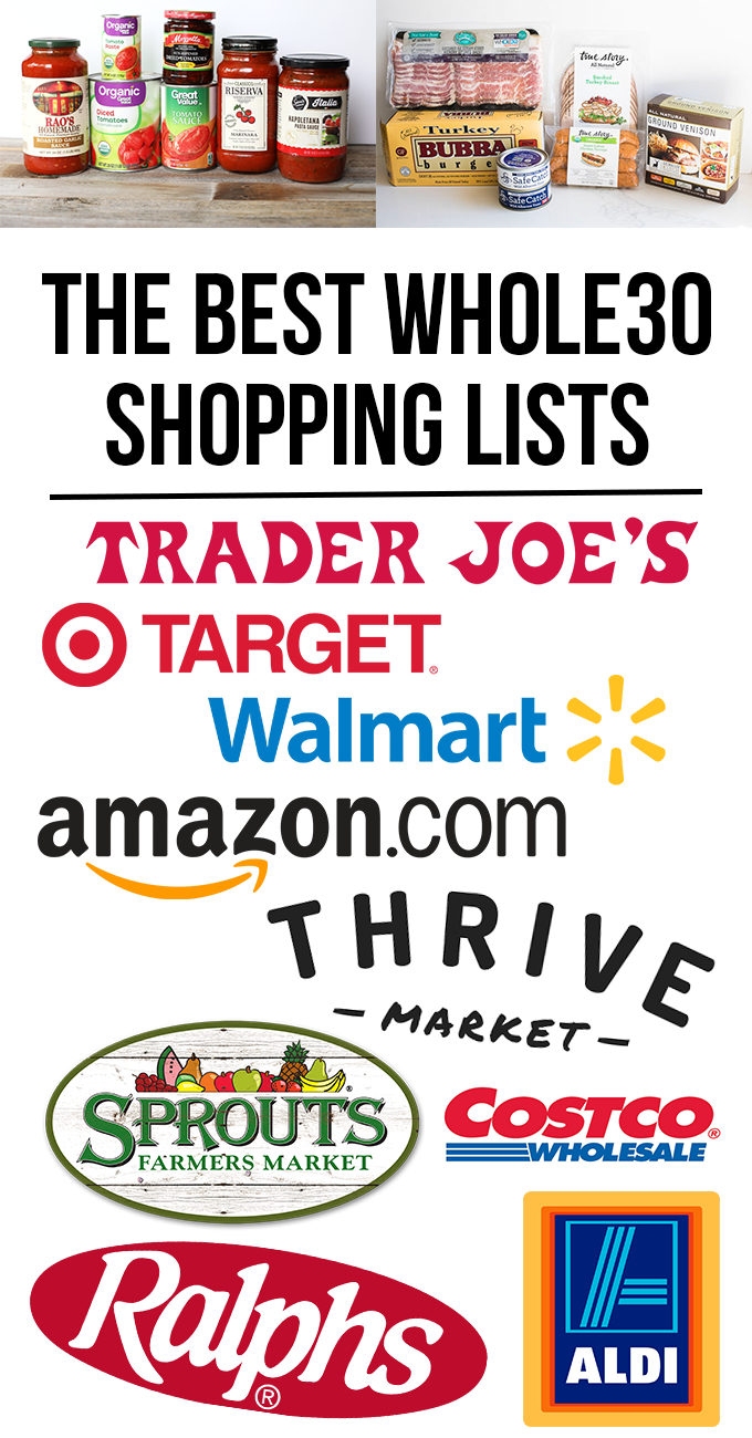 The Best Whole30 Shopping Lists | Kitchen/Shopping | Pinterest ...
