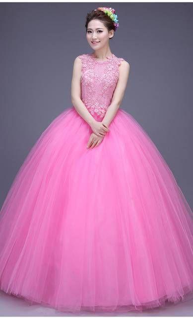 b66b257e89 Tienda Online Alta moda vestidos vestidos del Quinceanera bola 2015 de  cuello alto princesa 16 del
