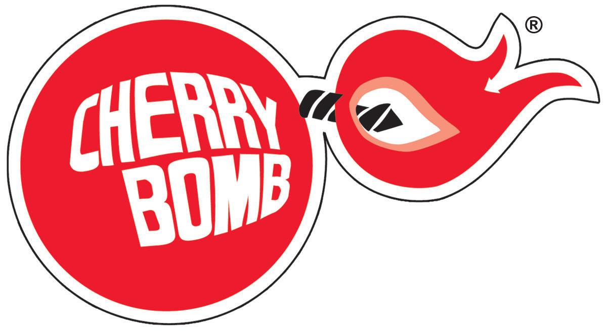Cherry Bomb Racing Vintage Vinyl Decal Sticker 5 Sizes Cherry Bomb Racing Stickers Car Memorabilia [ 656 x 1200 Pixel ]