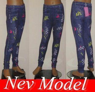 Legginsy Z Nadrukiem 12 134 140 Wiek 10 12 Lat 6135164414 Oficjalne Archiwum Allegro Skinny Jeans Skinny Fashion