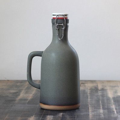 Slate Growler - Artisan's Bench - Our stoneware growlers are