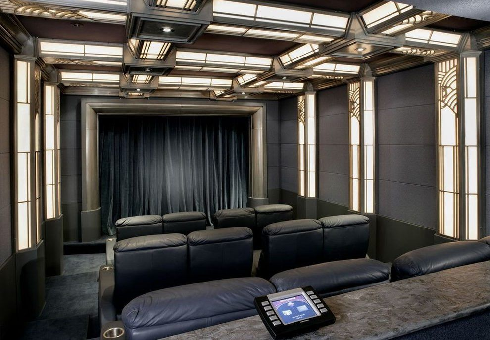 Art Deco Home Theater Google Search