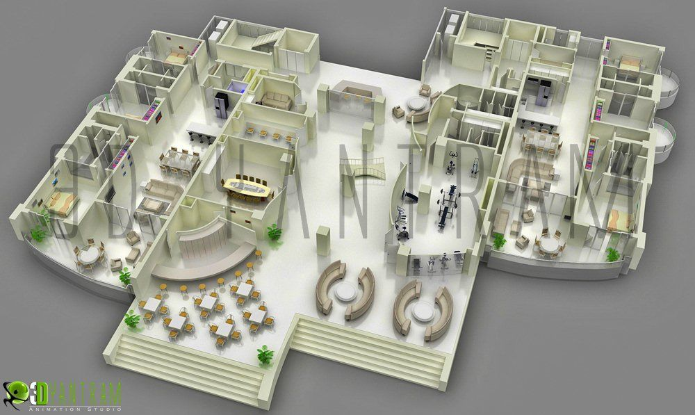 3d Floor Plan Design Interactive 3d Floor Plan Floor Plan Design Restaurant Floor Plan Interior Design Layout