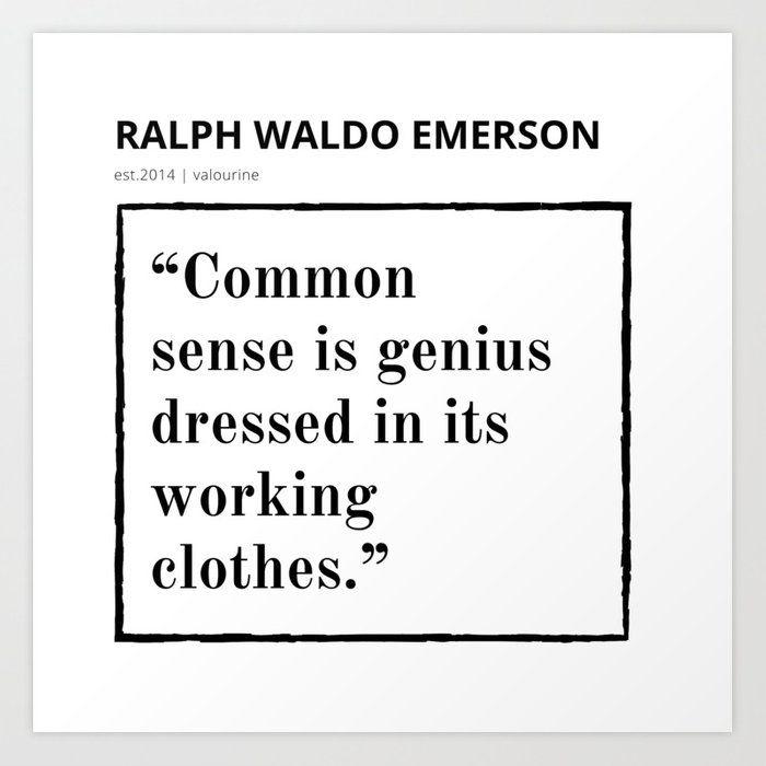 54   | Ralph Waldo Emerson Quote | 200930 | Motivational Inspirational Motivating Inspiring Art Print by Wordz