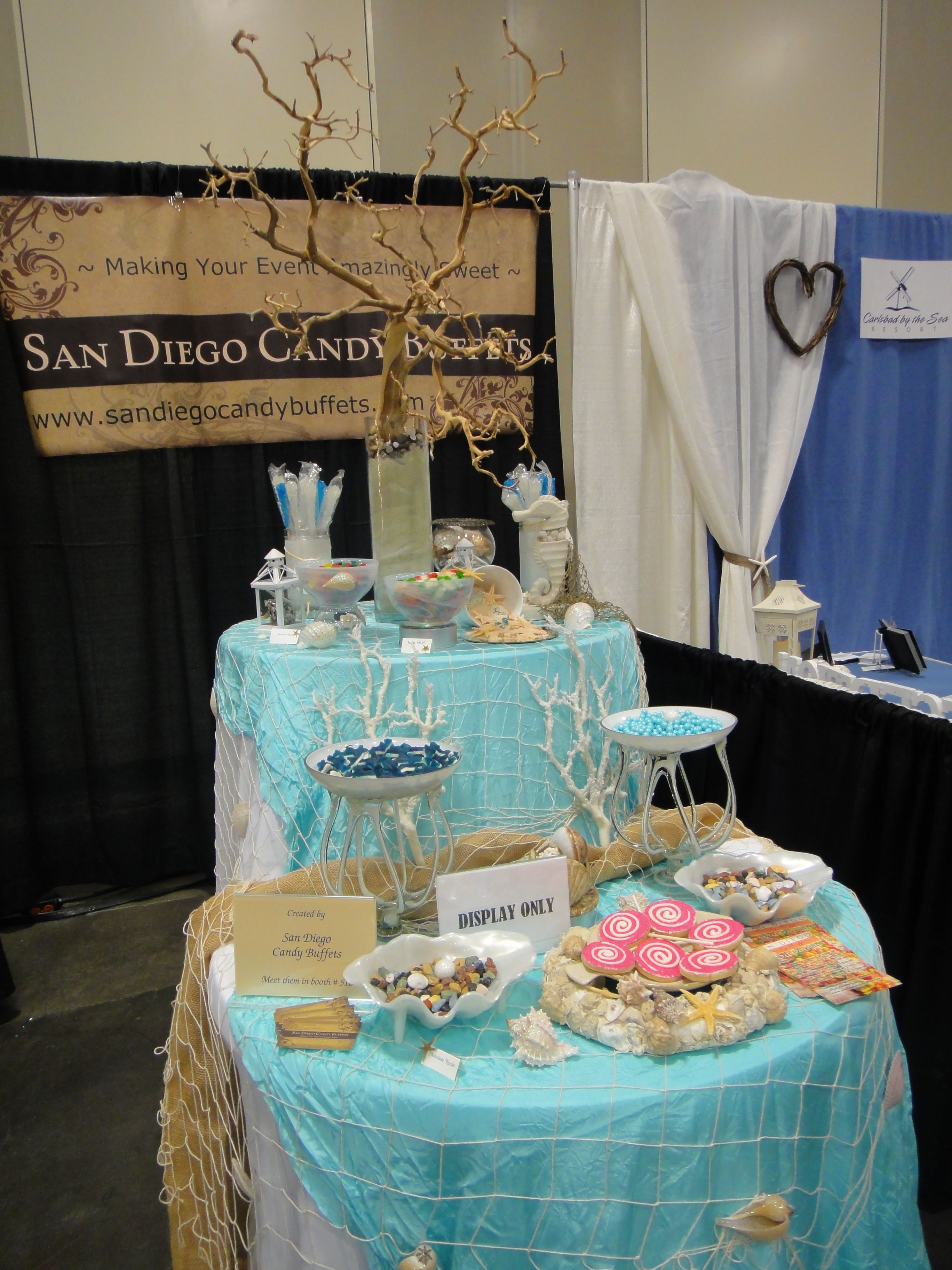 Beach Theme Candy Buffet Candybar Couture Gallery Mywedding
