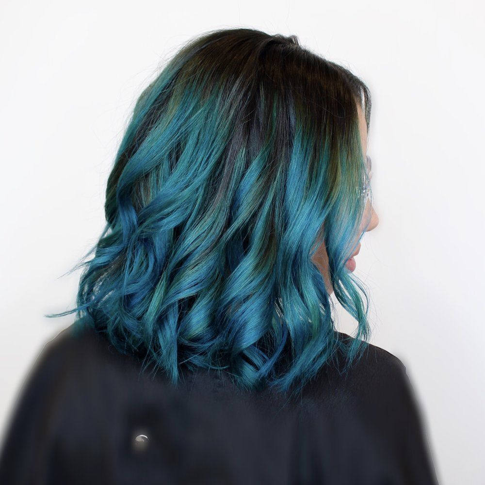 Pin En Pelo Color Azul 200 Ideas Con Imagenes