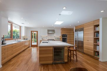 Kitchen Designer Los Angeles Classy Horizontal Grain Cabinetry Bel Air Modern  Modern  Kitchen  Los Design Inspiration