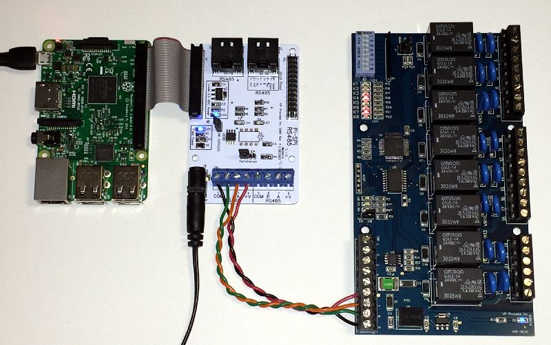 Raspberry Pi and RS485 Relay Output Modules | Raspberry Pi
