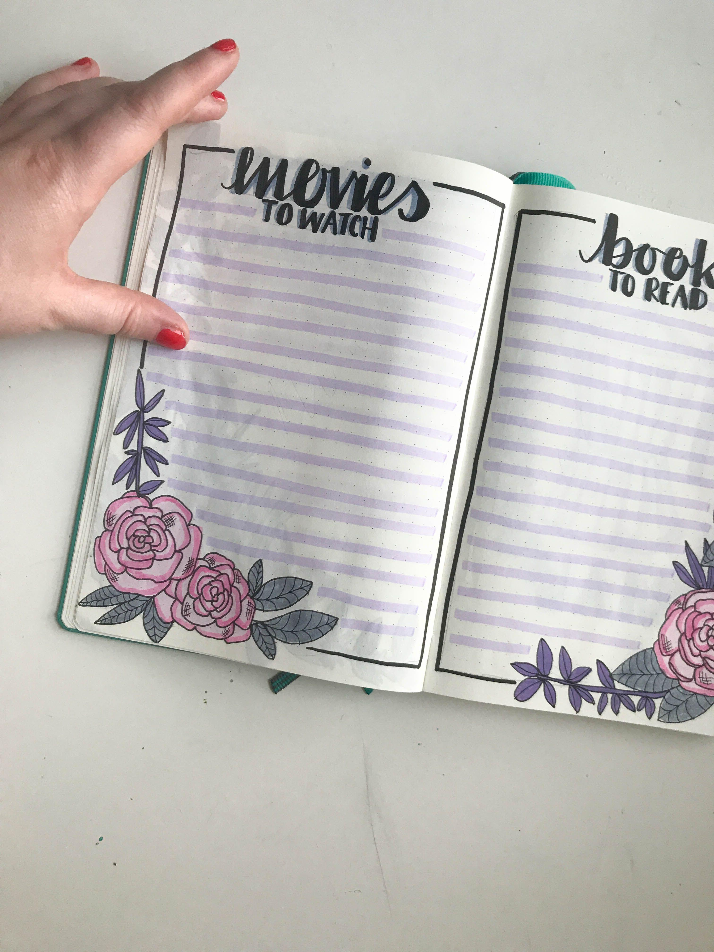 2020 Bullet Journal Set Up!