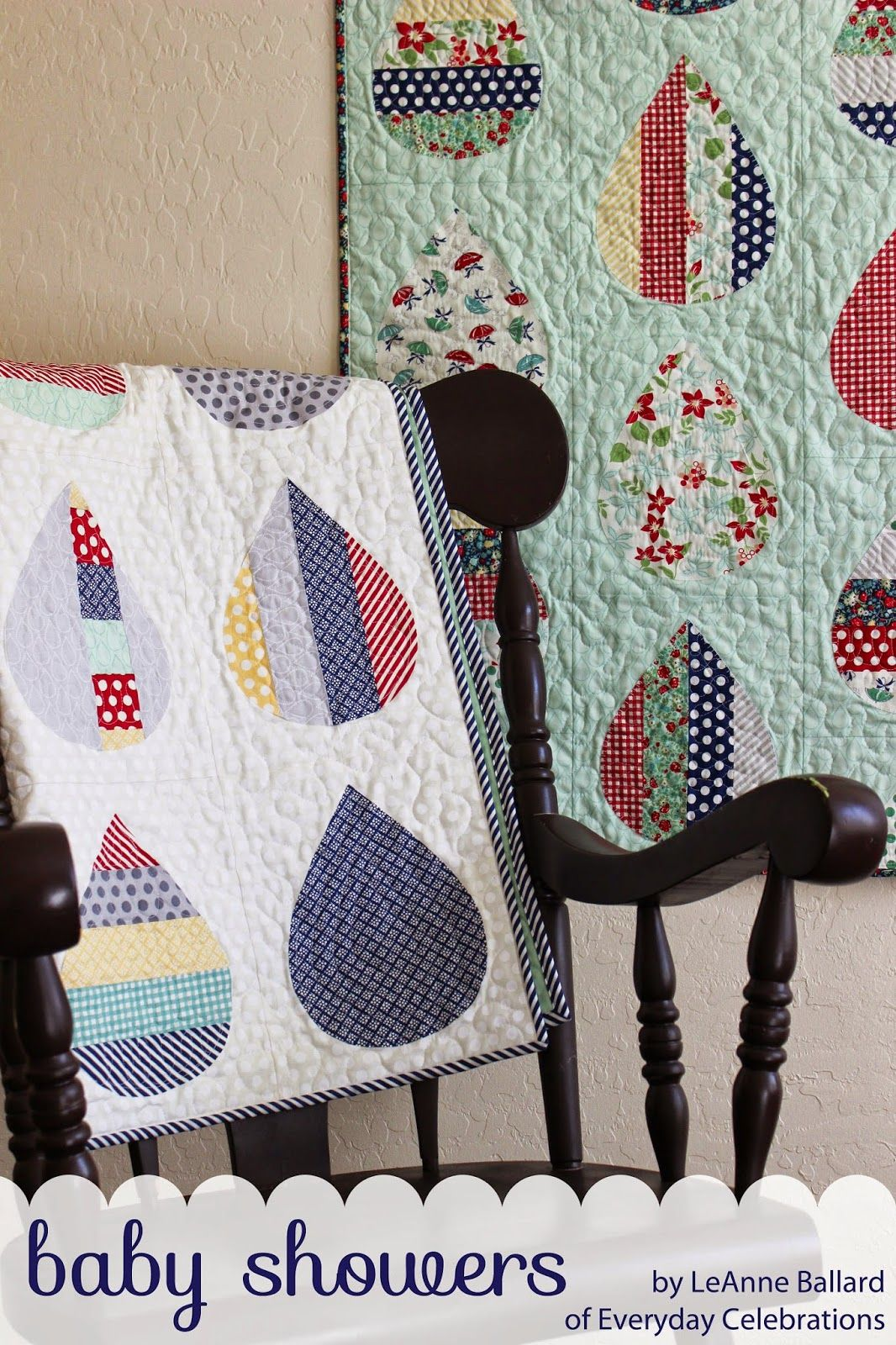 baby showers quilt | quilting with go cutter system and ideas to use