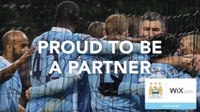 Wix patrocinará la página web del Manchester City