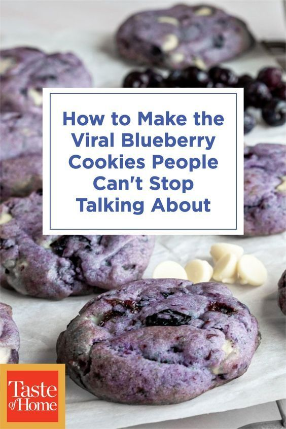 23+ doozie Here's How to Make the Viral Blueberry Cookies People Can't Stop Talking About
