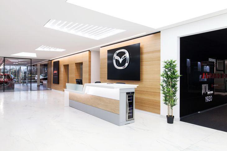Bisset Adams Mazda Dartford Car Showroom And Hq Showcase