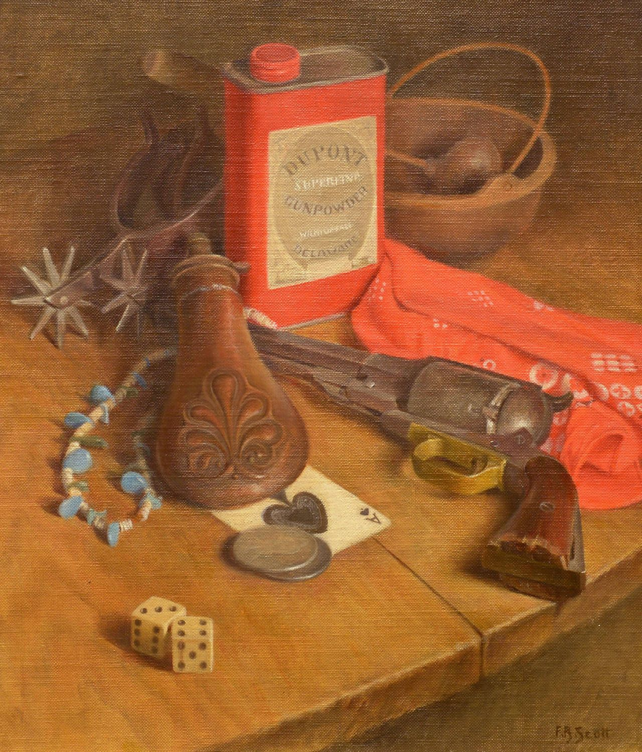 Flavia Bensing Scott - Western Still Life For Sale at 1stdibs