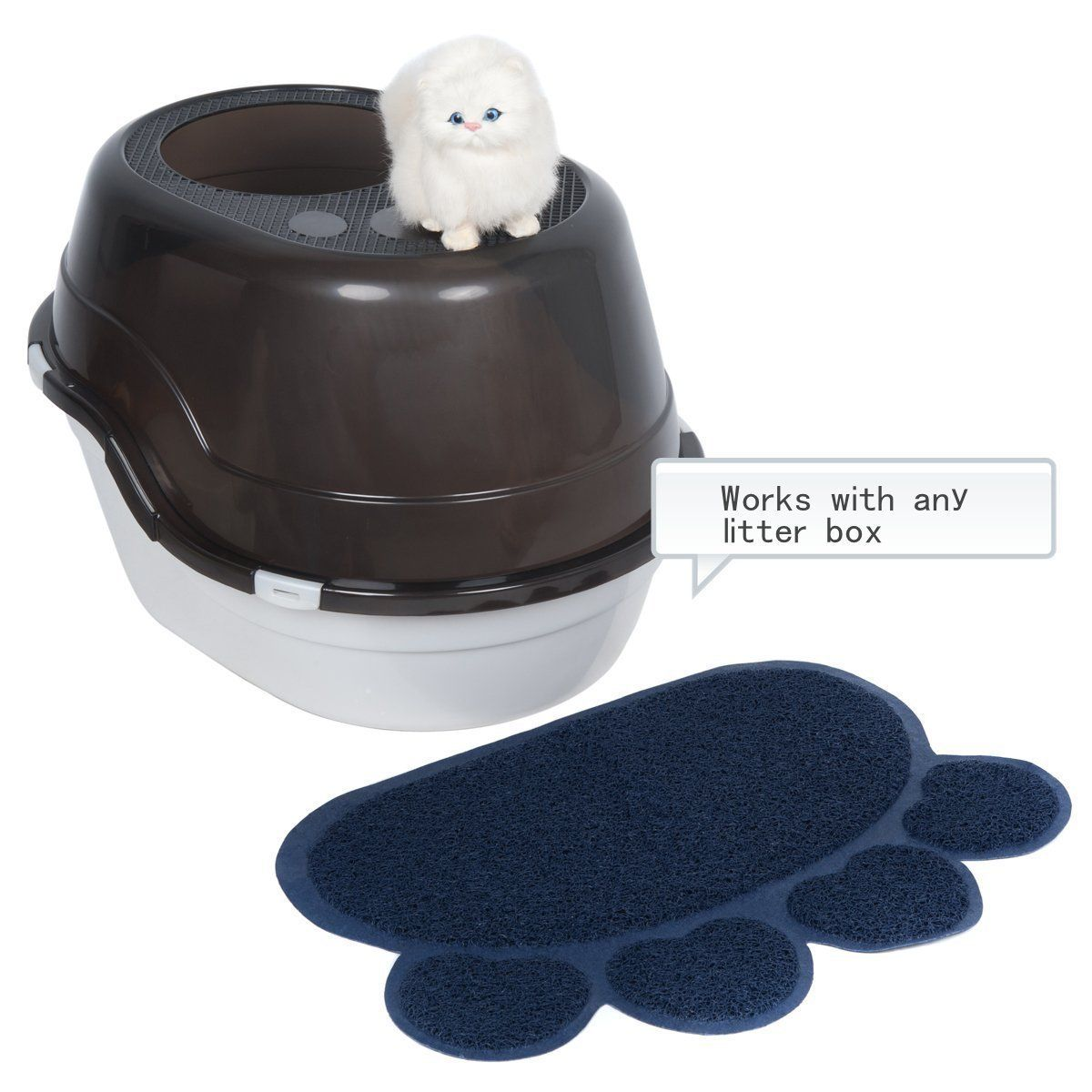 Favorite Soft Rug Cat Paw Litter Mat >>> Be sure to check