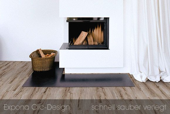 Expona Domestic Vinyl Designbelag Clic-System - der moderne PVC - moderne wohnzimmer boden
