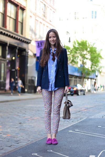 ストリートファッションスナップ ニューヨーク fashion