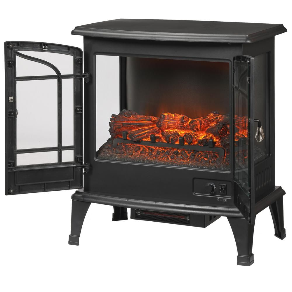 Stylewell Legacy 1 000 Sq Ft Panoramic Infrared Electric Stove