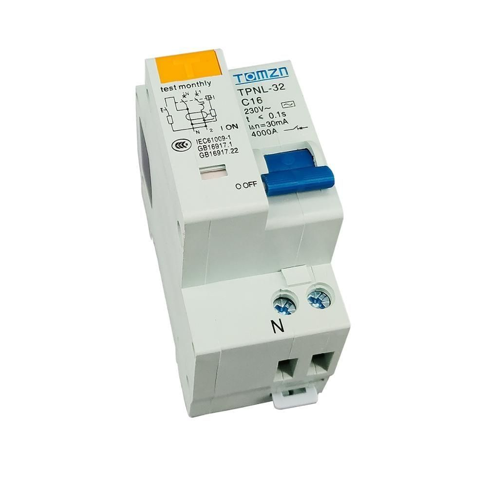 Tpnl Dpnl 230v 1pn Residual Current Circuit Breaker With