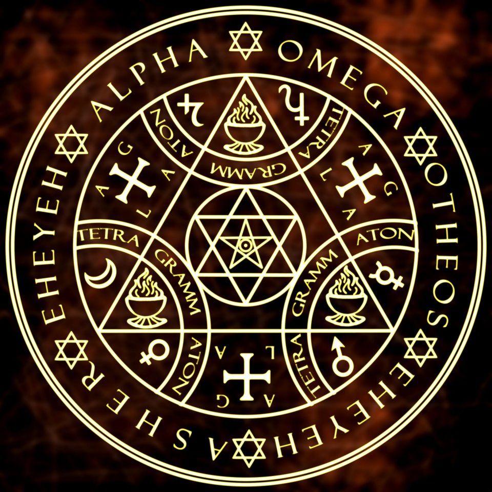 Sigil Of Lucifer Hd Wallpaper: Enochian Sigils Of Protection Siglr