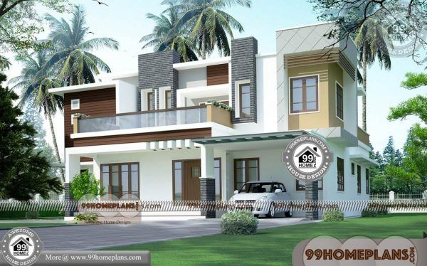 Small Indian House Design  90+ New Double Storey House Designs