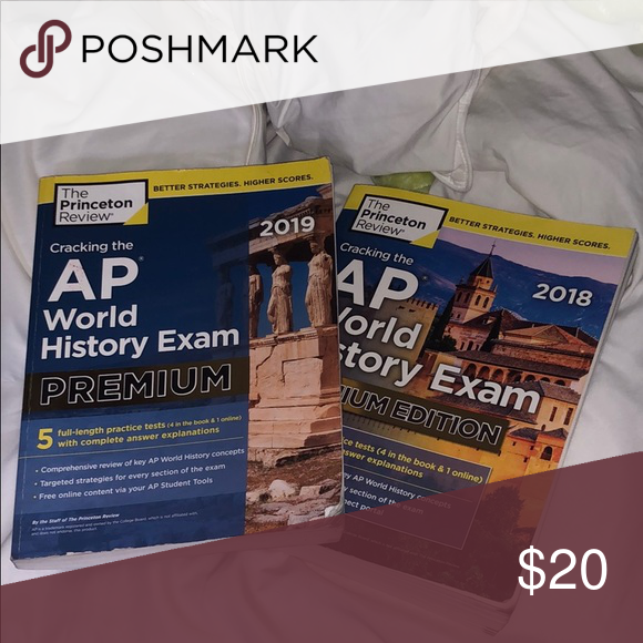 AP World History Books 2 Ap world history books, one never