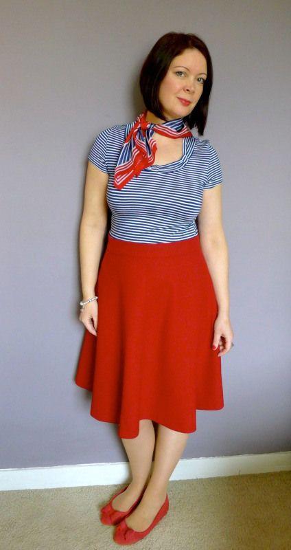 Hollyburn Skirt En Rouge - Did You Make That?